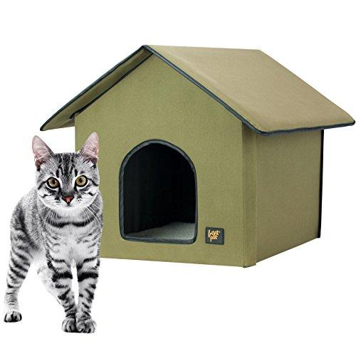 Frontpet 20 Watt Heated Cat House For Outdoor Indoor Cats Cat House Outdoor Heated Cat House Perfect Cat House For Keeping Newborn Kittens Warm Onlypetshop Com