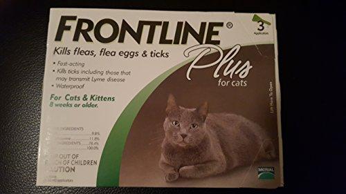 Frontline Plus for Cats 3 Pack | OnlyPetShop.com