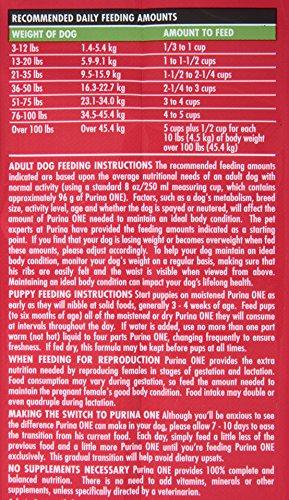 Purina One Smartblend Dry Dog Food Lamb Rice Formula 8 Pound Bag Pack Of 1 Onlypetshop Com