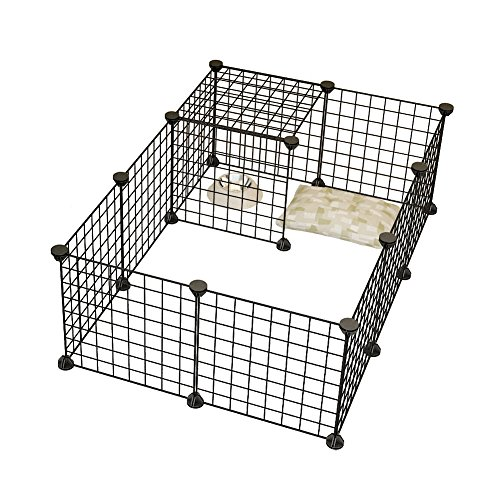 Dog Playpen By KOUSI Portable Large Metal Wire Yard Fence For ...